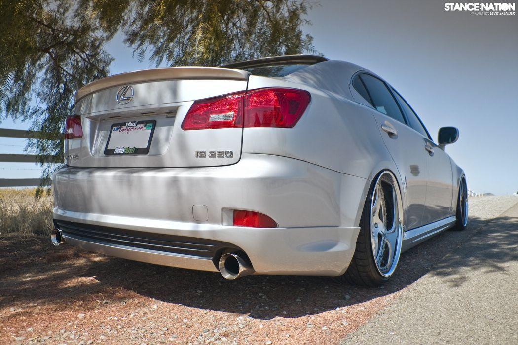 Lexus I-S custom tuning wallpaper