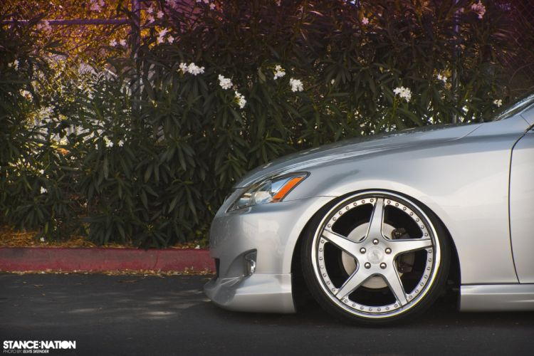 Lexus I-S custom tuning wallpaper