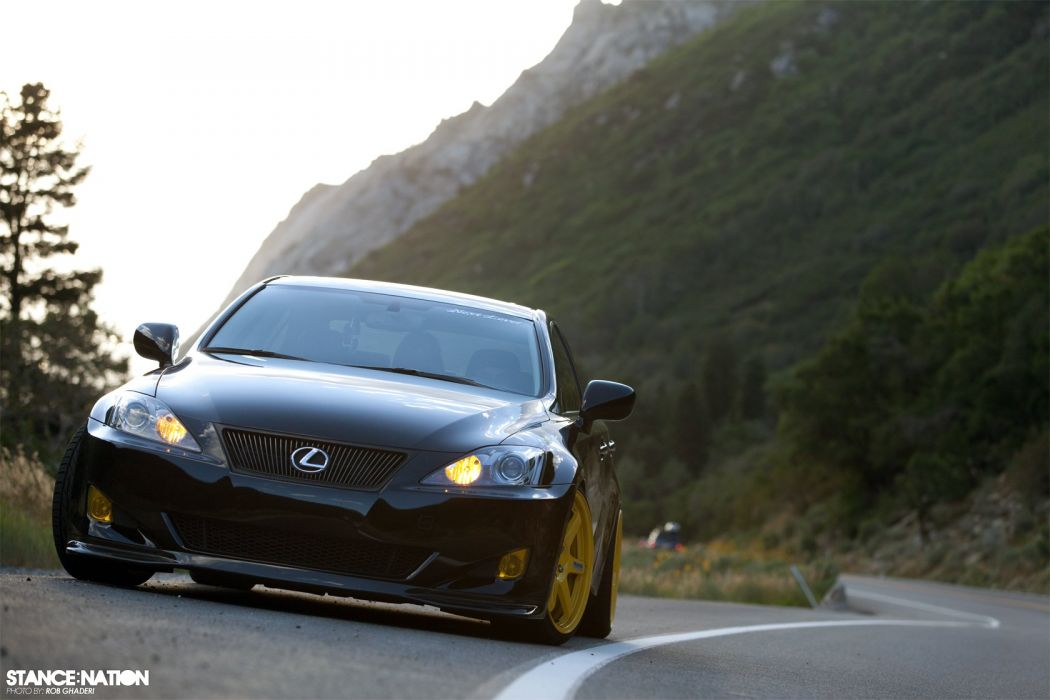 Lexus IS350 custom tuning wallpaper