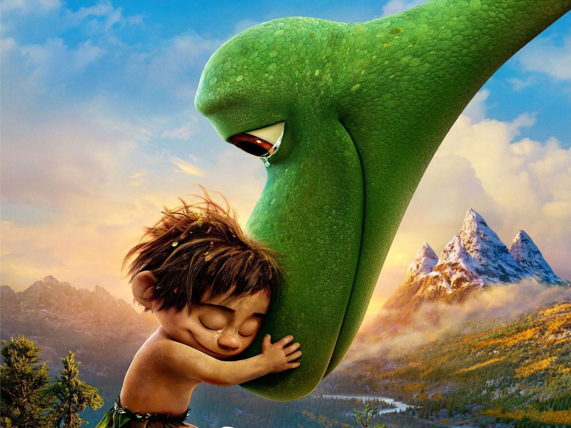Хороший динозавр постер