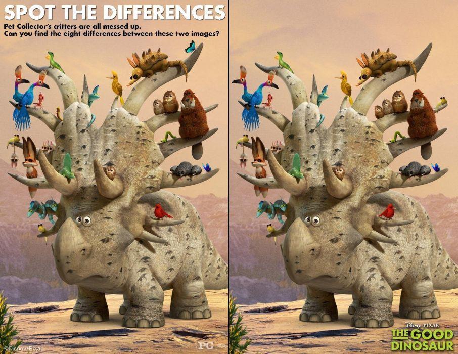 GOOD DINOSAUR animation fantasy cartoon family comedy adventure drama 1gdino disney poster wallpaper