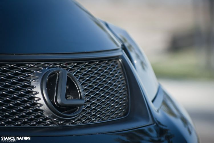 Lexus IS-F custom tuning wallpaper
