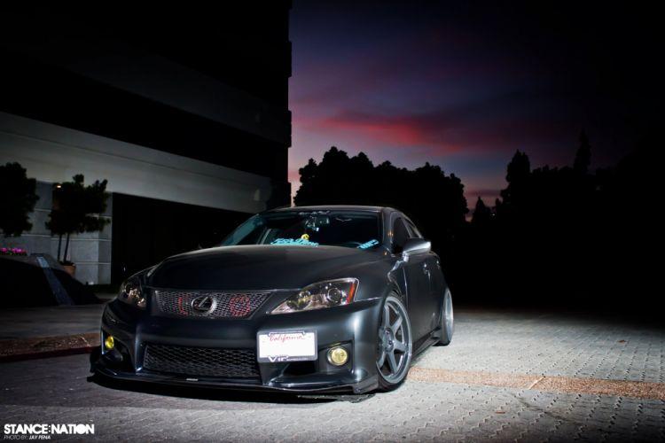 Lexus IS-F custom tuning wallpaper