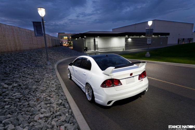 Honda Civic custom tuning wallpaper