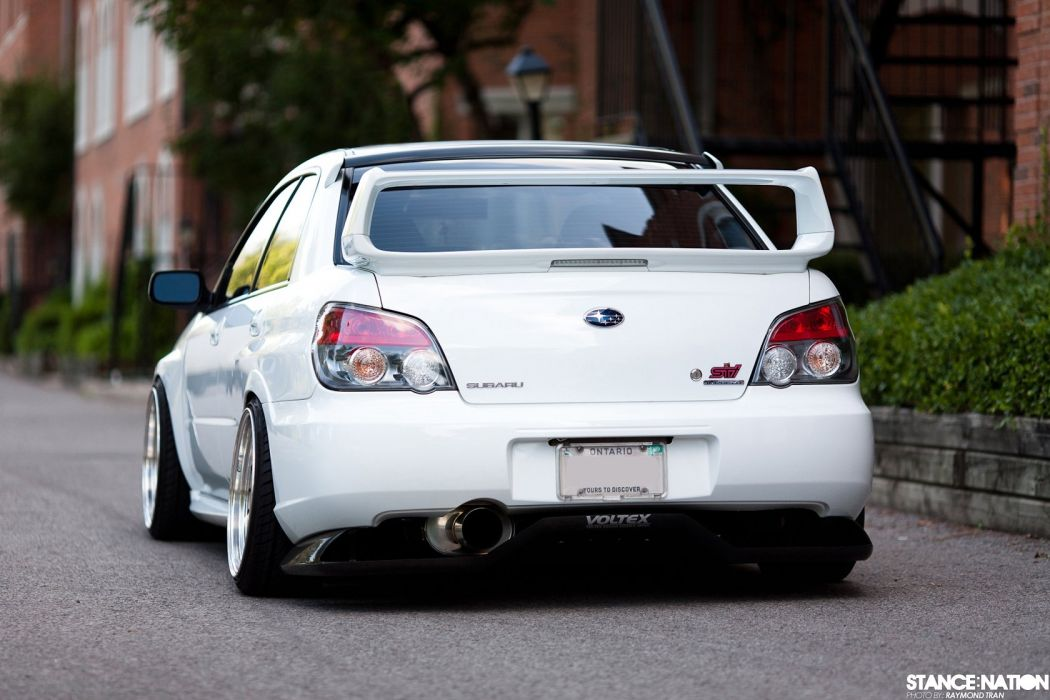 Subaru Impreza STI custom tuning wallpaper