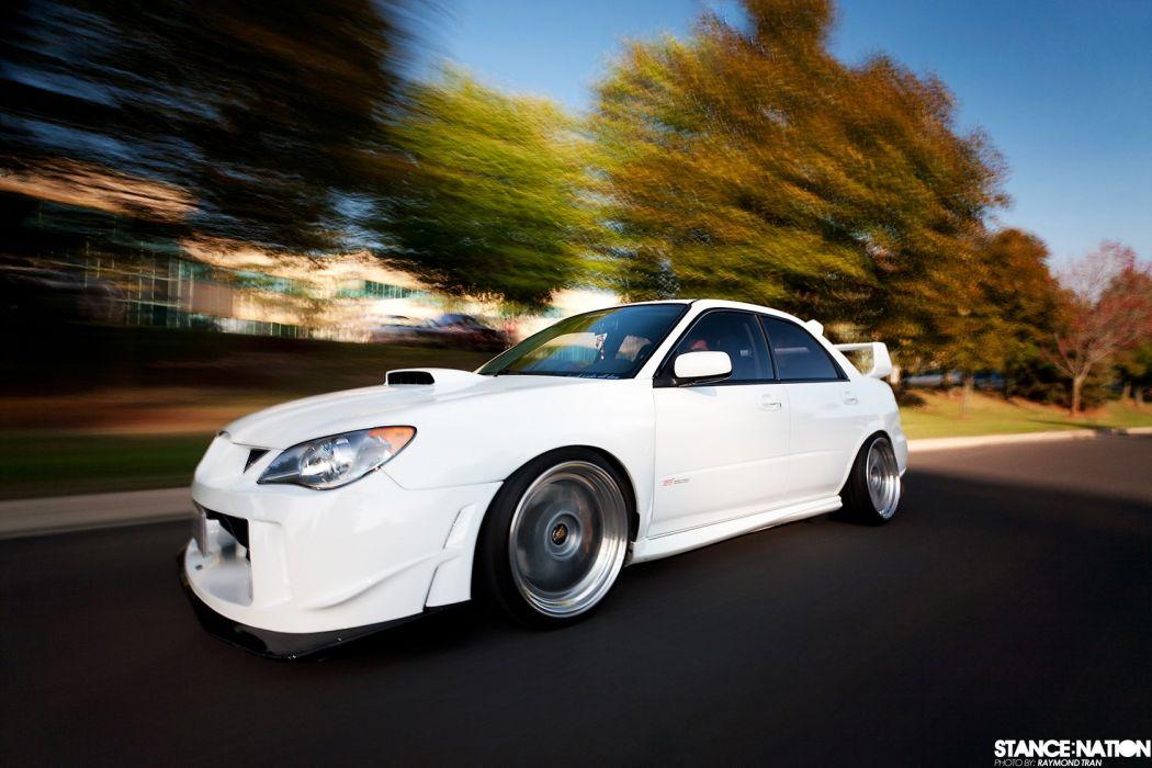 Subaru Impreza STI custom tuning wallpaper