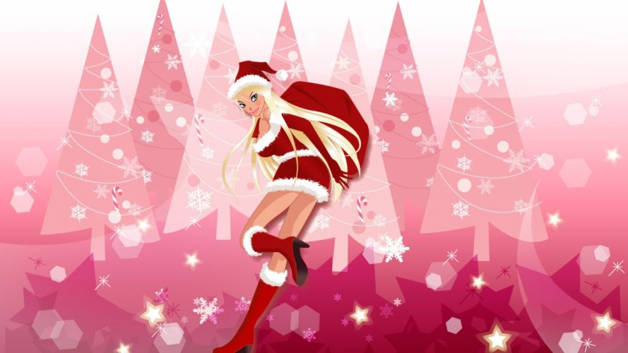CHRISTMAS holiday winter poster wallpaper
