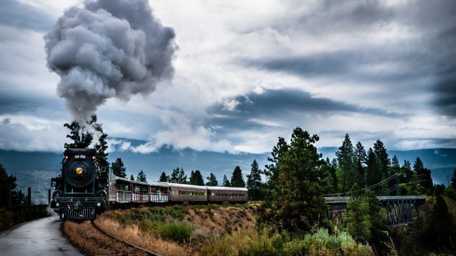 tren vapor paisajes wallpaper