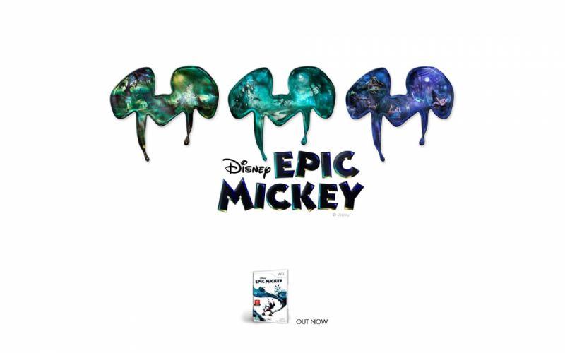 EPIC MICKEY disney platform family adventure puzzle 1epicm animation poster wallpaper
