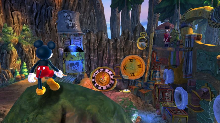 EPIC MICKEY disney platform family adventure puzzle 1epicm animation wallpaper