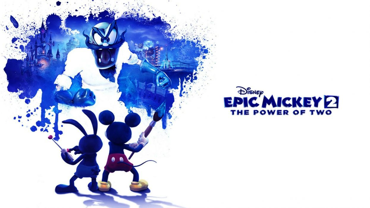 EPIC MICKEY disney platform family adventure puzzle 1epicm animation poster wallpaper