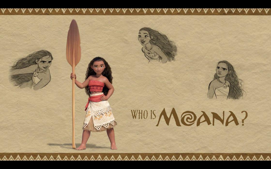 MOANA disney princess fantasy animation adventure musical family 1moana poster wallpaper