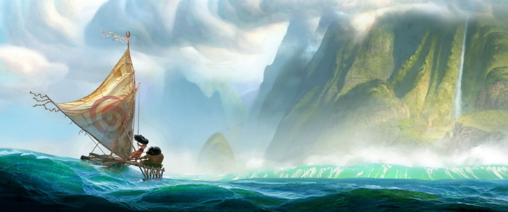 MOANA disney princess fantasy animation adventure musical family 1moana wallpaper