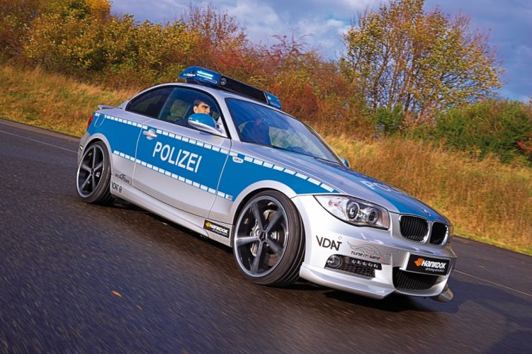 2009 AC-Schnitzer ACS1 2-3d Polizei Tune it Safe! Concept E82 bmw police emergency wallpaper