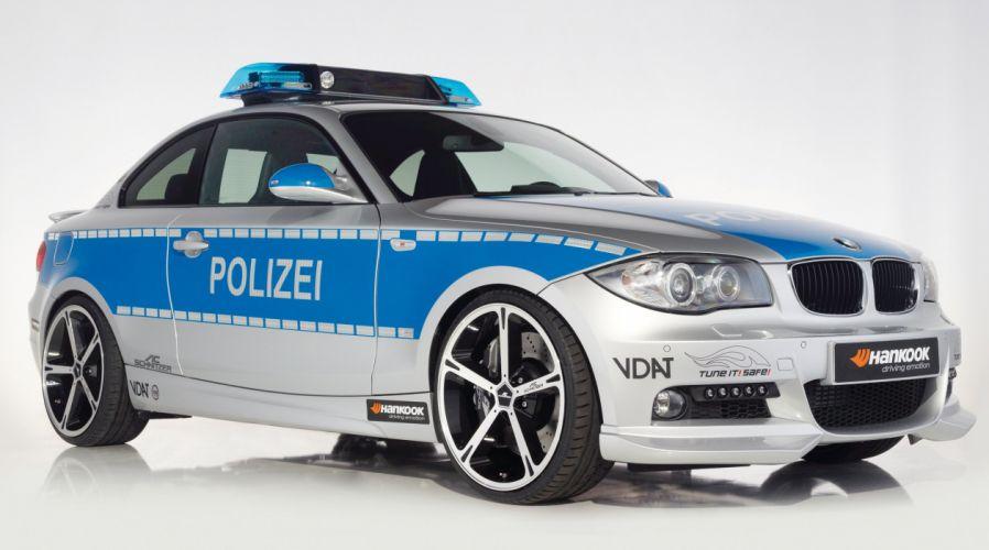 2009 AC-Schnitzer ACS1 2-3d Polizei Tune it Safe! Concept E82 bmw police emergency wallpaper