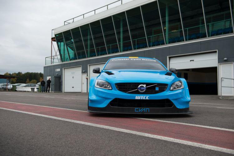 2016 Volvo S60 Polestar TC1 WTCC Prototype race racing wallpaper