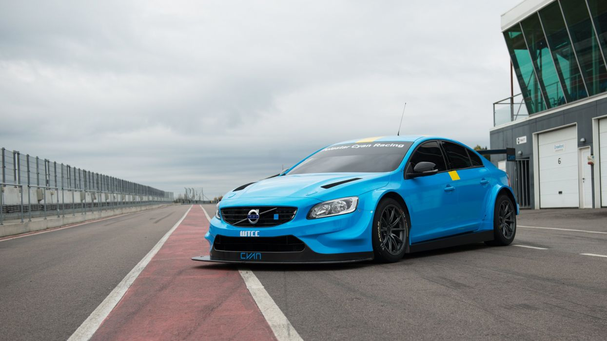 2016 Volvo S60 Polestar TC1 WTCC Prototype race racing wallpaper
