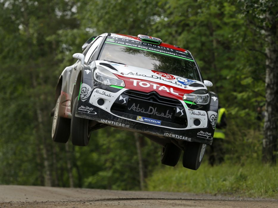 2015 Citreon DS3 WRC rally race racing wallpaper