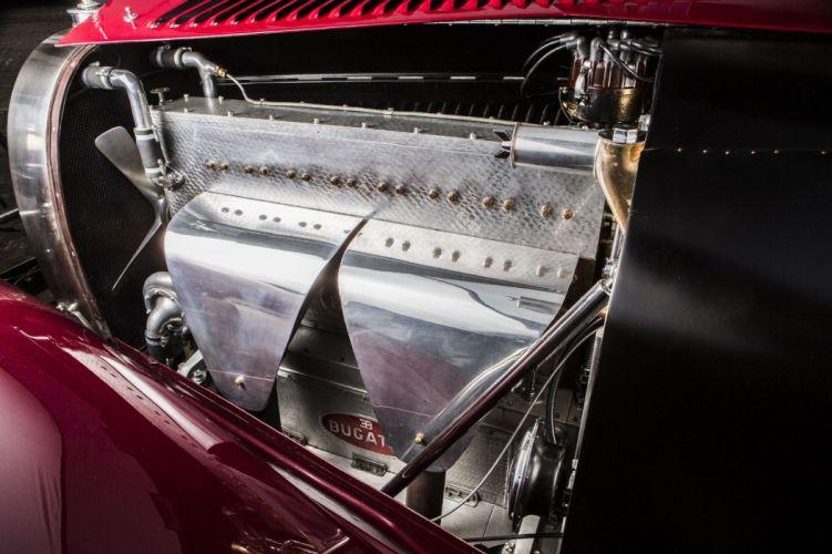 1931 Bugatti Type 46S Cabriolet Reinboldt Christie luxury retro vintage wallpaper