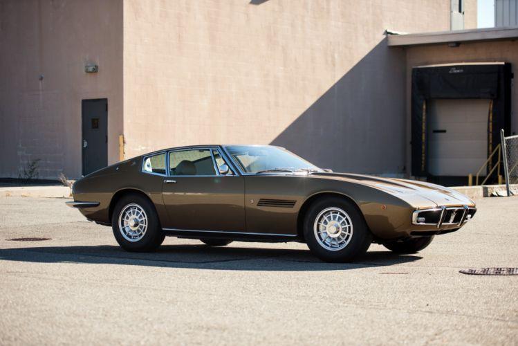 1970 Maserati Ghibli S-S Ghia classic supercar wallpaper