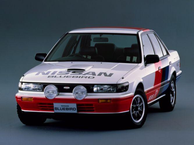 1987 Nismo Nissan Bluebird SSS-R U12 race racing wallpaper