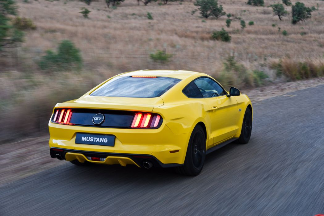2015 Ford Mustang G-T Fastback ZA-spec muscle wallpaper