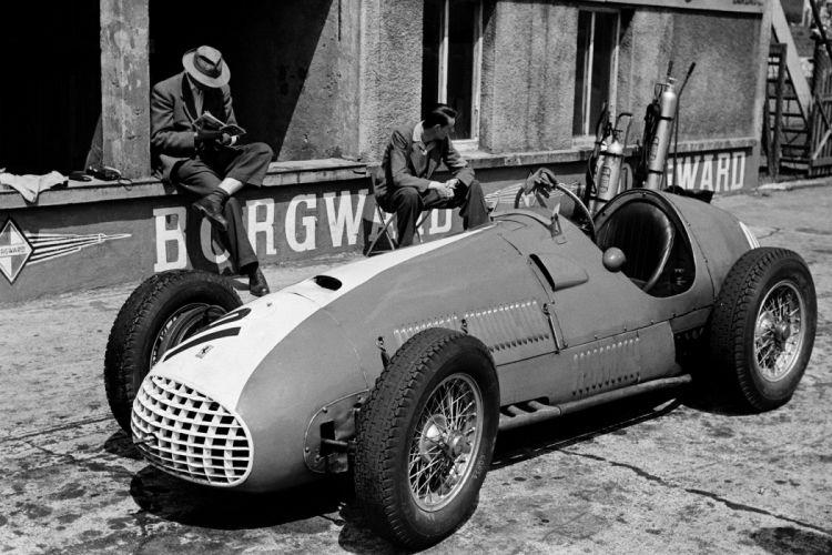 1951 Ferrari 212 F-1 formula retro race racing wallpaper