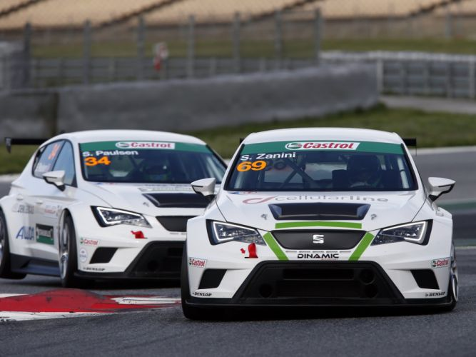 2015 Seat Leon Cup Racer 5-F tcr rally race racing wallpaper