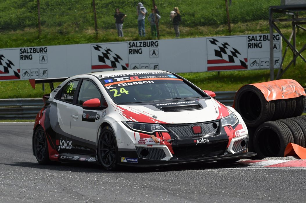2015 Honda Civic TCR rally race racing wallpaper