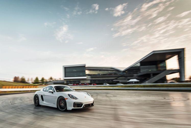 2015 Porsche Cayman GTS US-spec 981C wallpaper