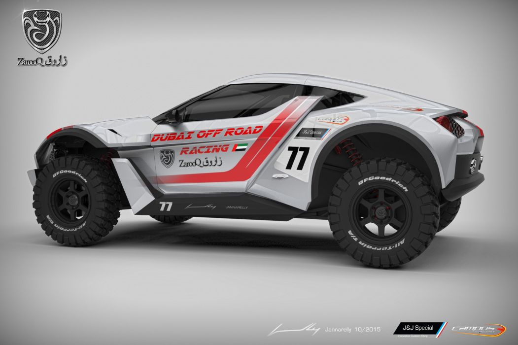 Zarooq SandRacer cars concept wallpaper