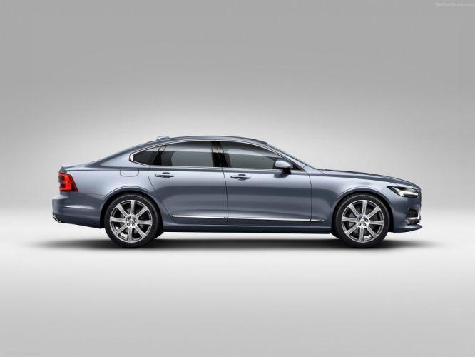 Volvo S90 cars sedan 2016 wallpaper