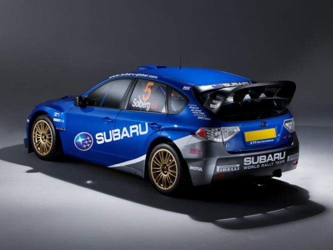 2008 Subaru Impreza WRC rally race racing wallpaper