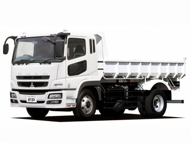 2012 Mitsubishi Fuso Super Great semi tractor truck wallpaper