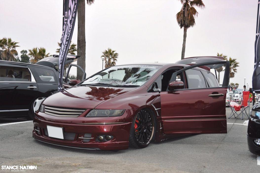 Honda Odyssey tuning custom suv van wallpaper