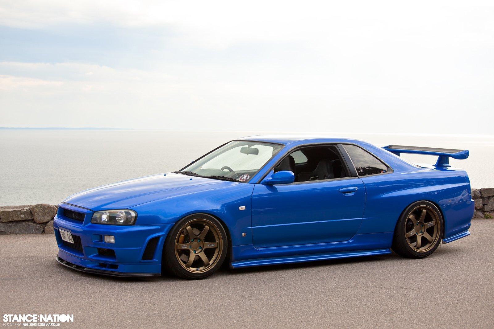 2001 Nissan Skyline R34 Gt R Tuning Custom Supercar Wallpaper 1600x1067 847710 Wallpaperup