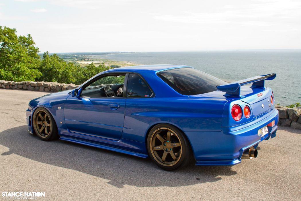 2001 Nissan Skyline R34 Gt R Tuning Custom Supercar Wallpaper 1600x1067 847714 Wallpaperup