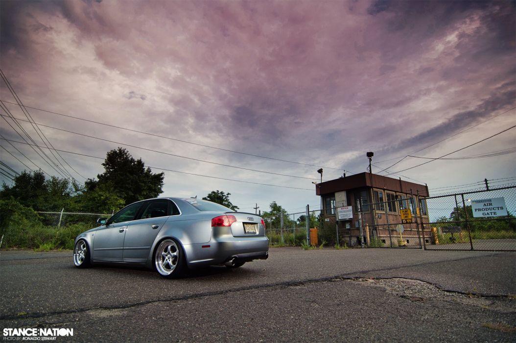 Audi A-4 tuning custom wallpaper