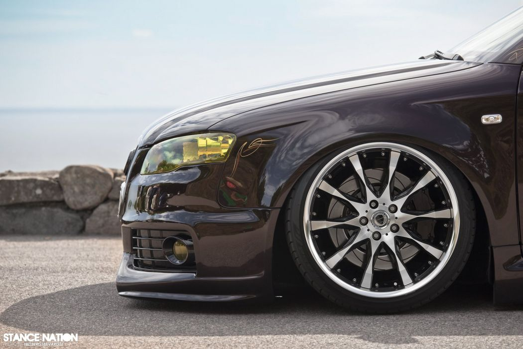 Audi A-4 tuning custom wallpaper