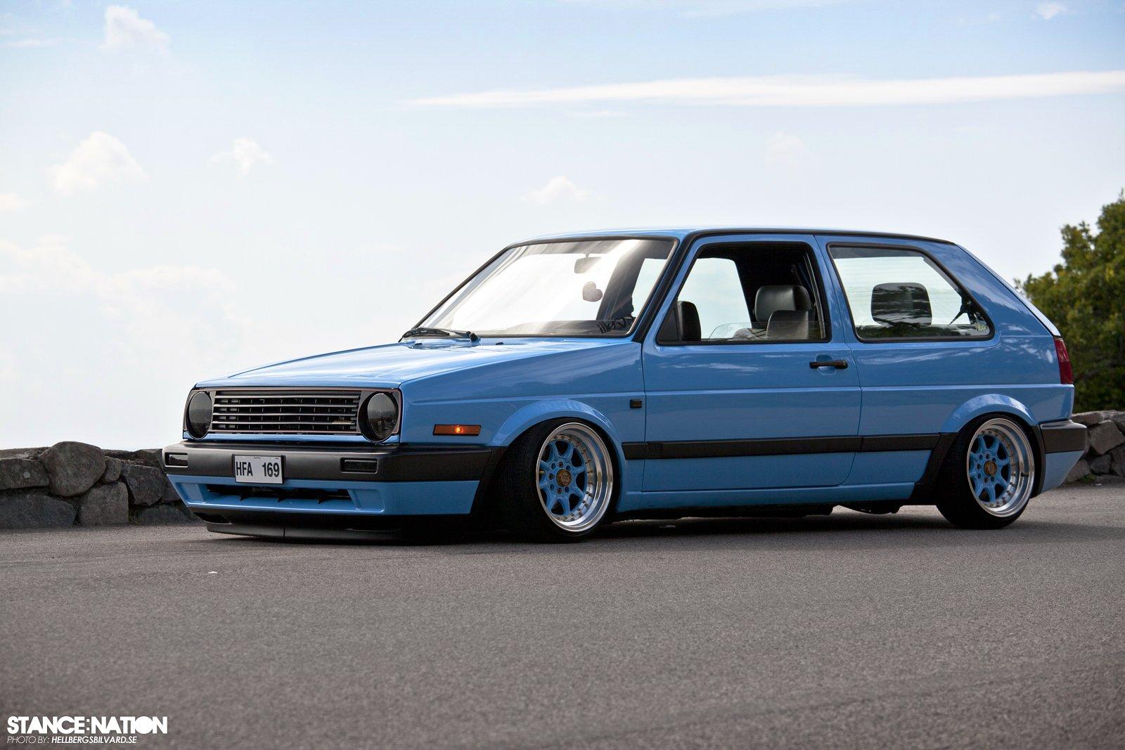 Volkswagen Golf Mk2 Tuning Custom Wallpaper 1600x1067