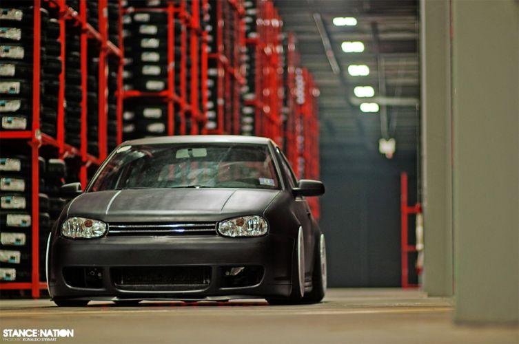Volkswagen Golf GTI tuning custom wallpaper