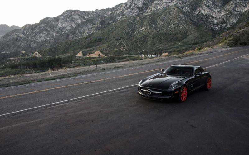 2015 Klassen Mercedes Benz SLS AMG tuning supercar wallpaper