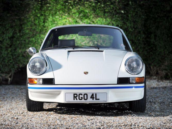 1973 Porsche 911 Carrera R-S Sport UK-spec classic wallpaper