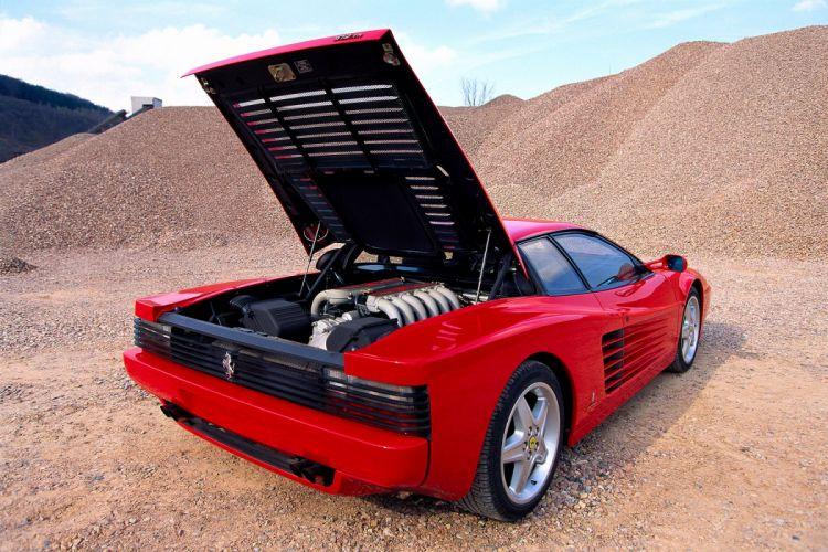 1994 Ferrari 512 T-R supercar wallpaper