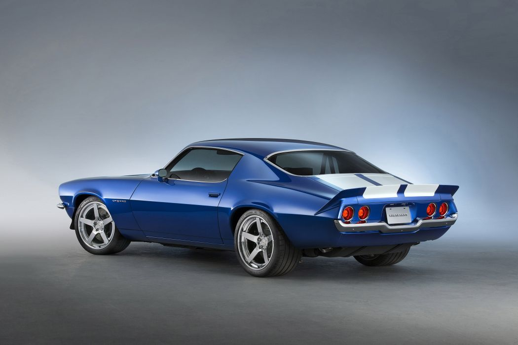 2015 Chevrolet 1970 Camaro RS Supercharged LT4 Concept muscle hot rod rods wallpaper