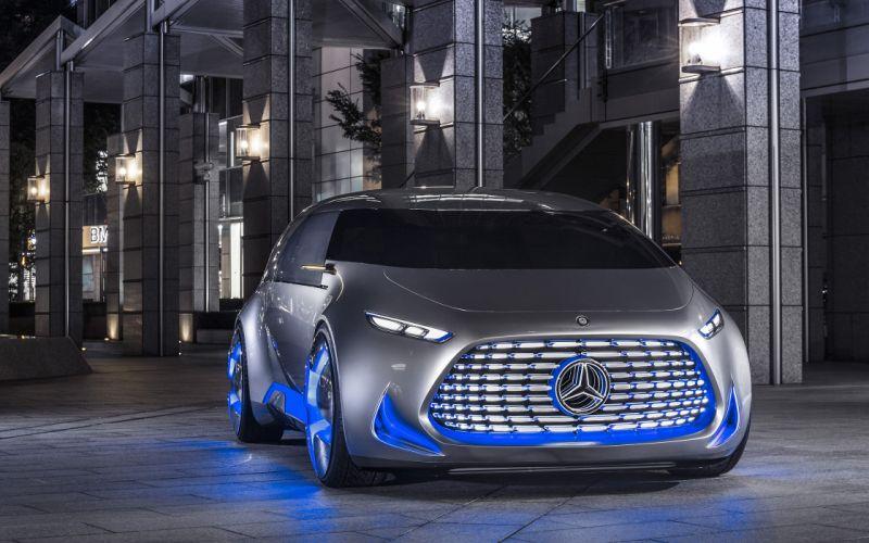 2015 Mercedes Benz Vision Tokyo Concept suv van wallpaper