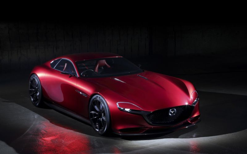 2015 Mazda RX-Vision Concept supercar wallpaper