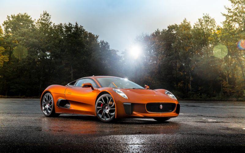2015 Jaguar C-X75 Bond Concept supercar wallpaper
