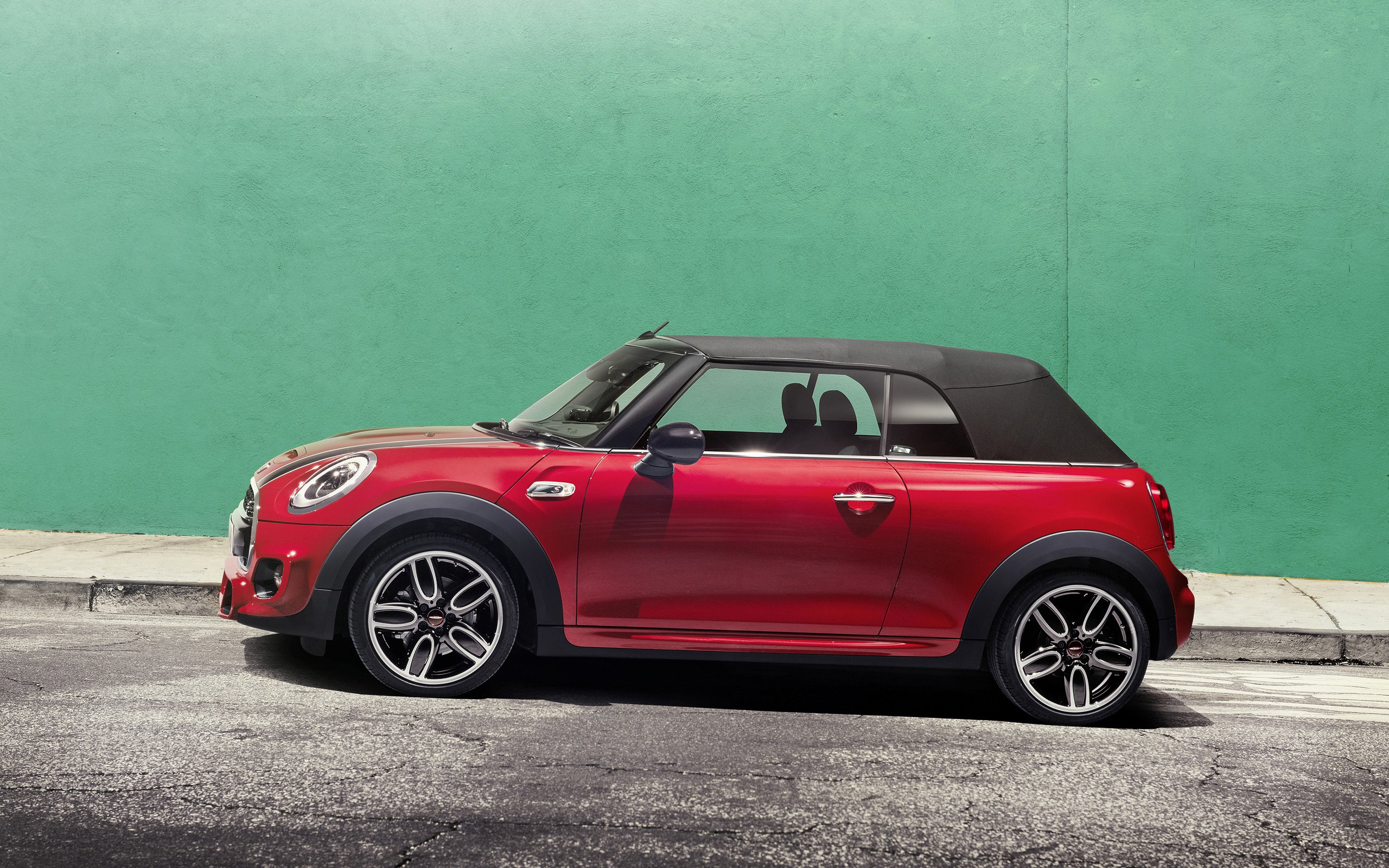 2016 mini john cooper works cabrio wallpaper 2560x1600. Black Bedroom Furniture Sets. Home Design Ideas