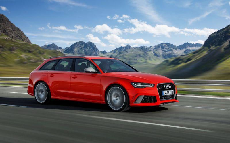 2016 Audi RS6 Avant Performance stationwagon wallpaper
